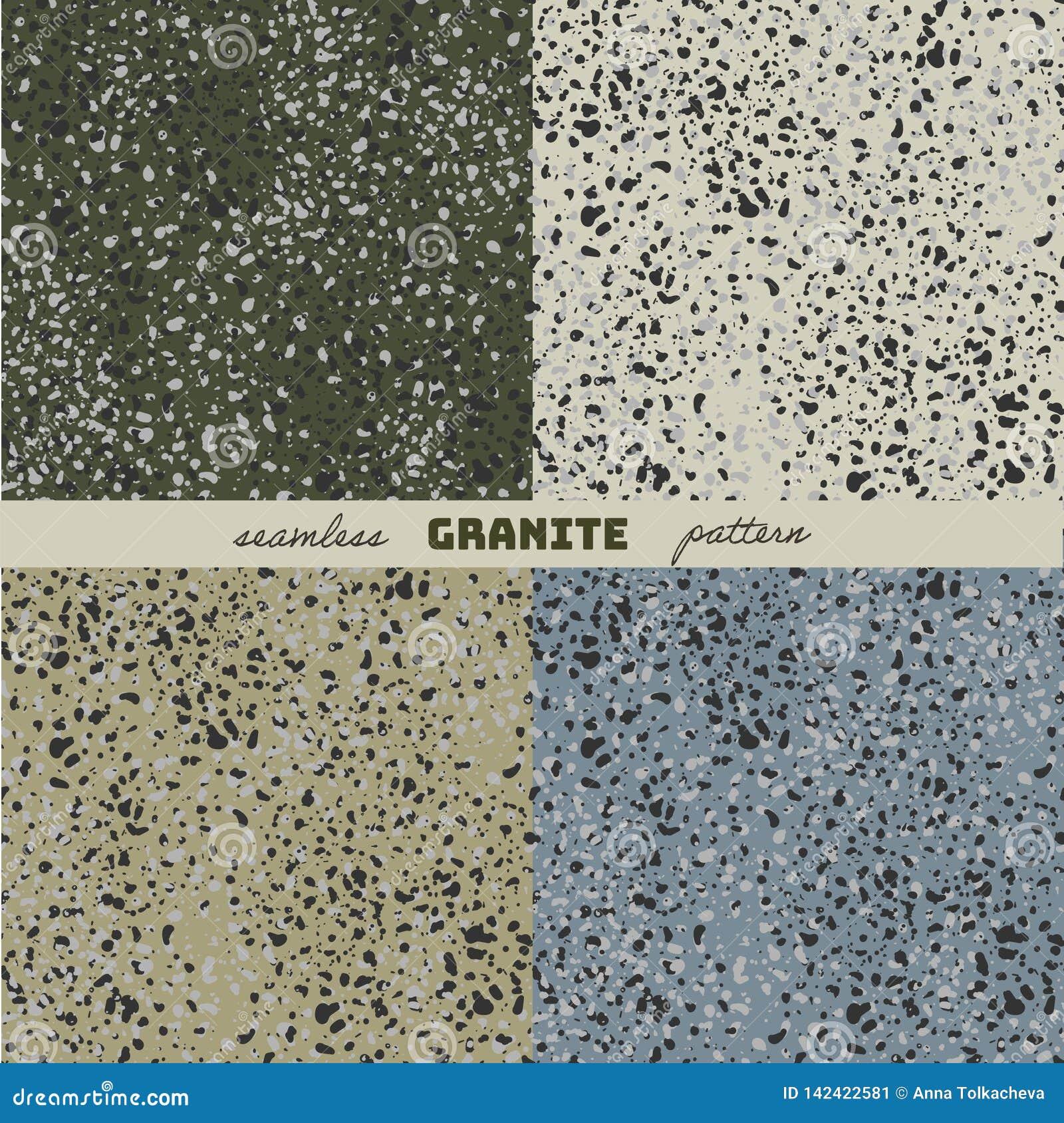 A textura do granito
