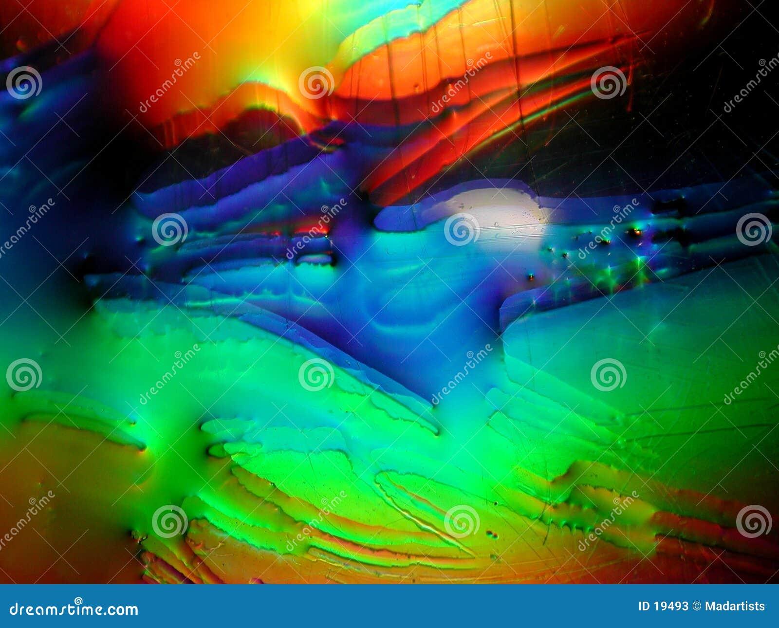 Textura do líquido da pintura de Grunge