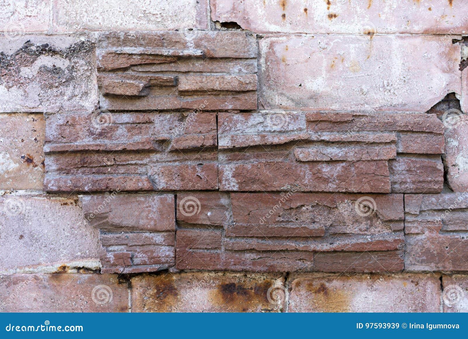 Textura do tijolo