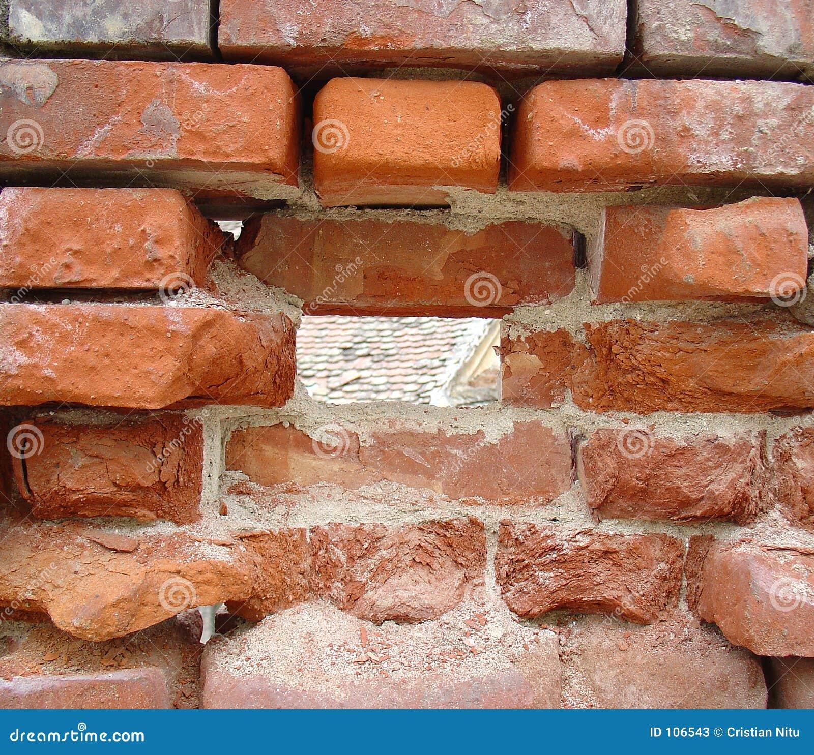 Textura dos tijolos
