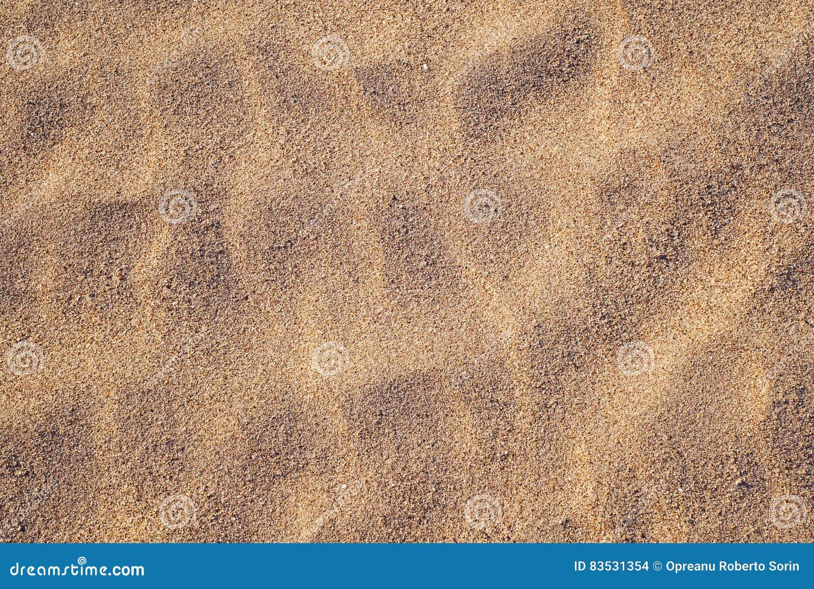 Textura dourada da areia