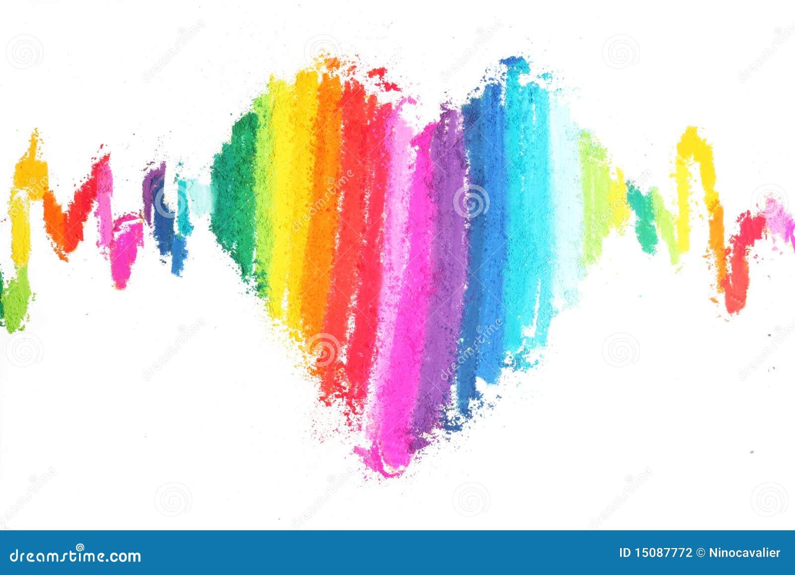Texturas De Colores Pastel: Textura En Colores Pastel De Los Palillos Del Corazón
