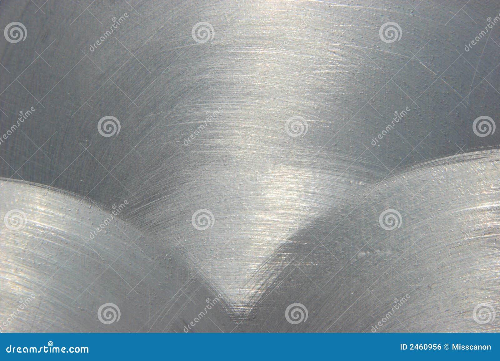 Textura escovada do metal