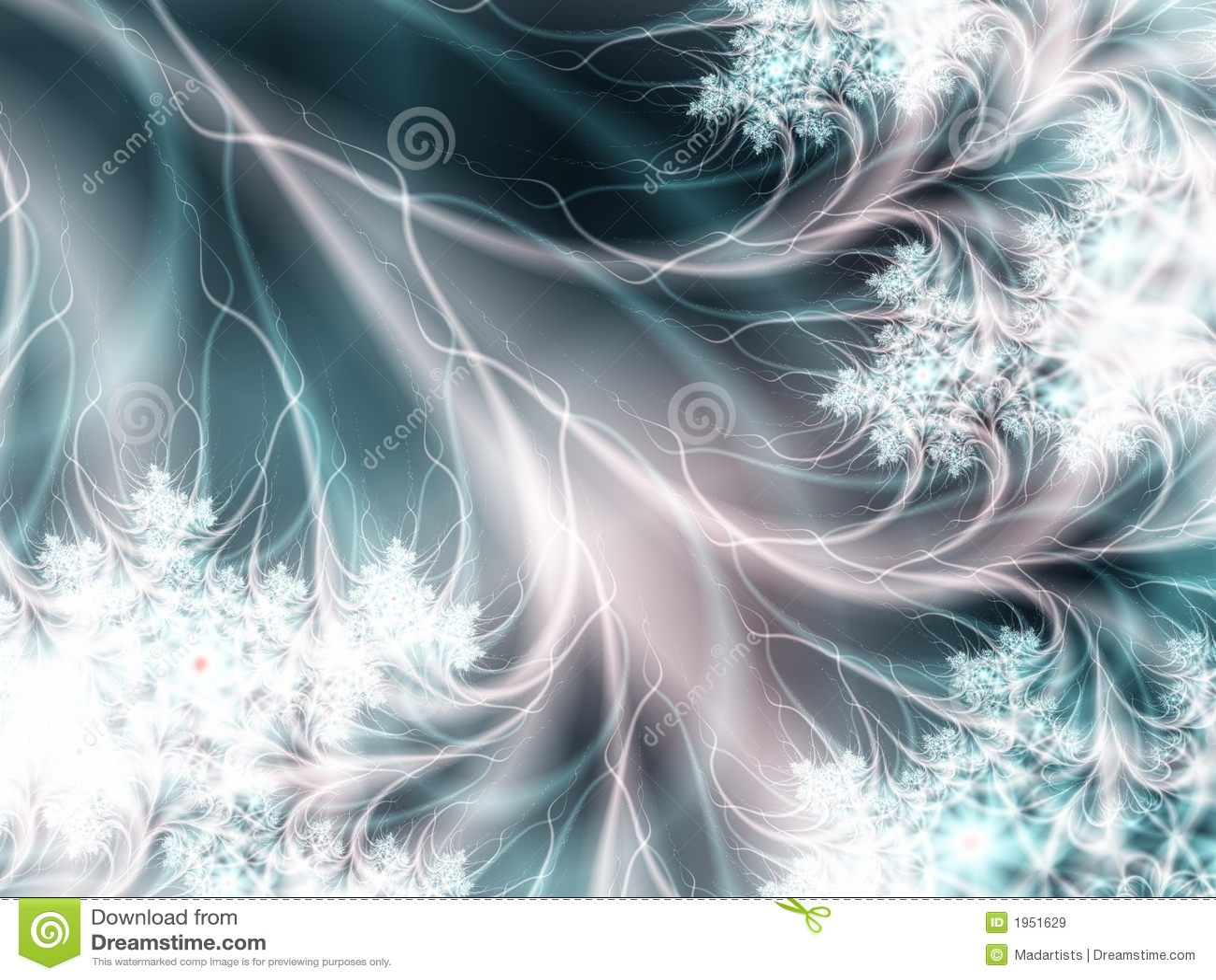 Textura Feathery branca macia