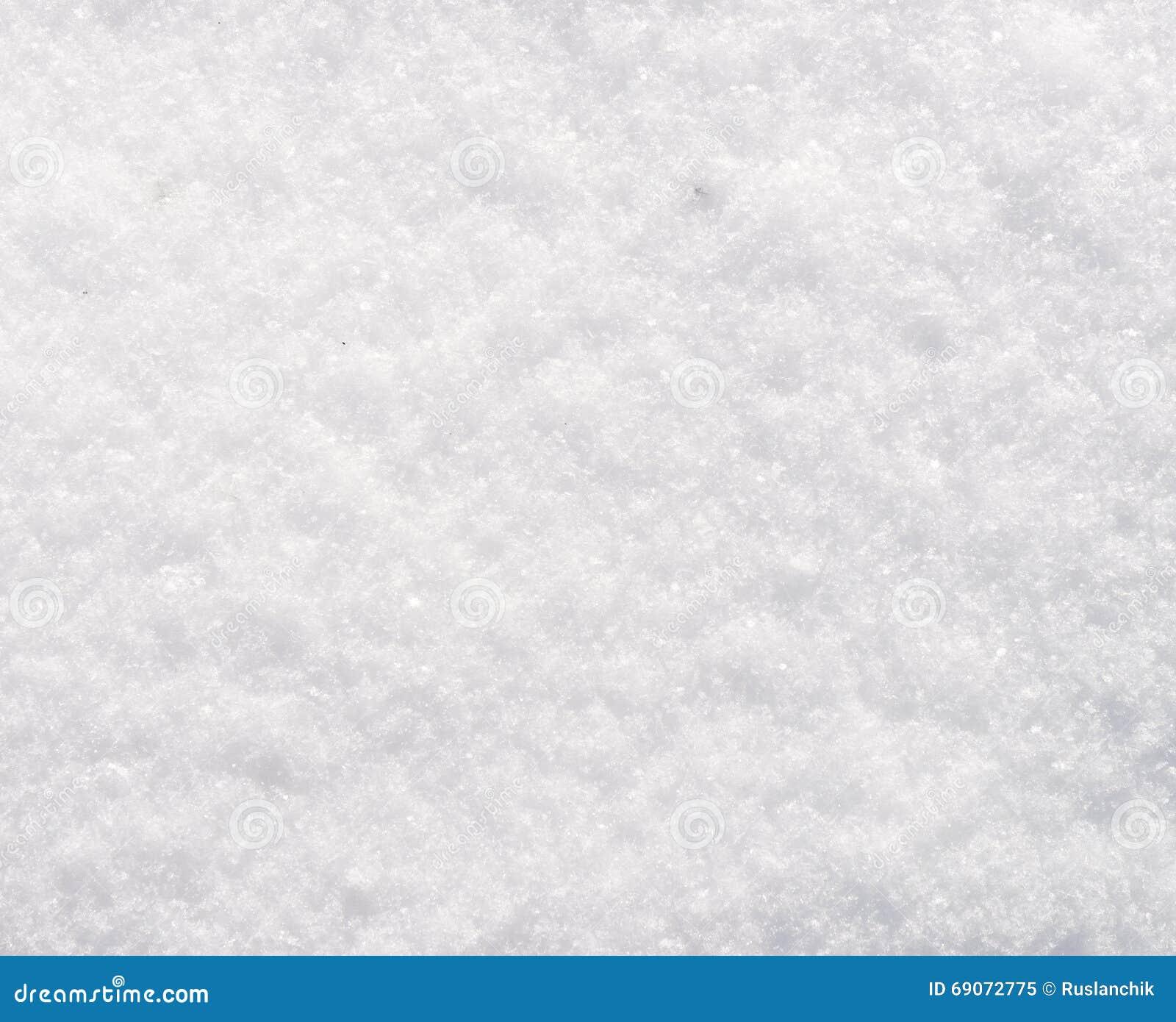 Textura fresca da neve