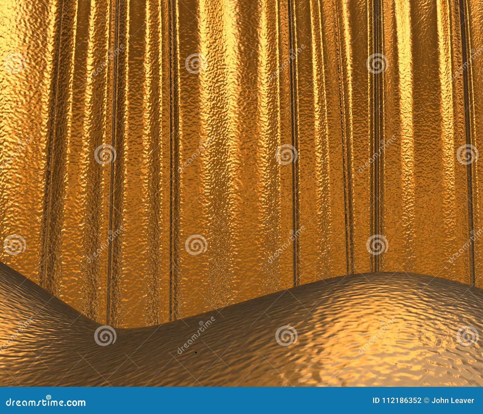 Textura/fundo do ouro