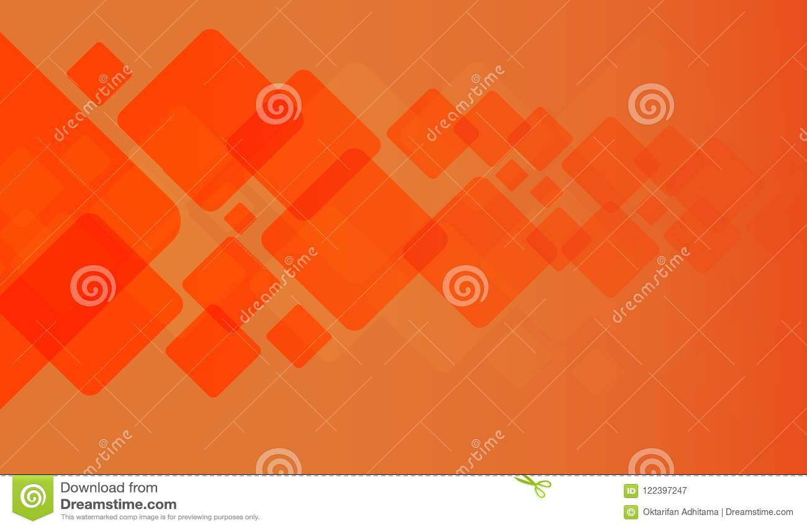 Textura geométrica com fundo alaranjado
