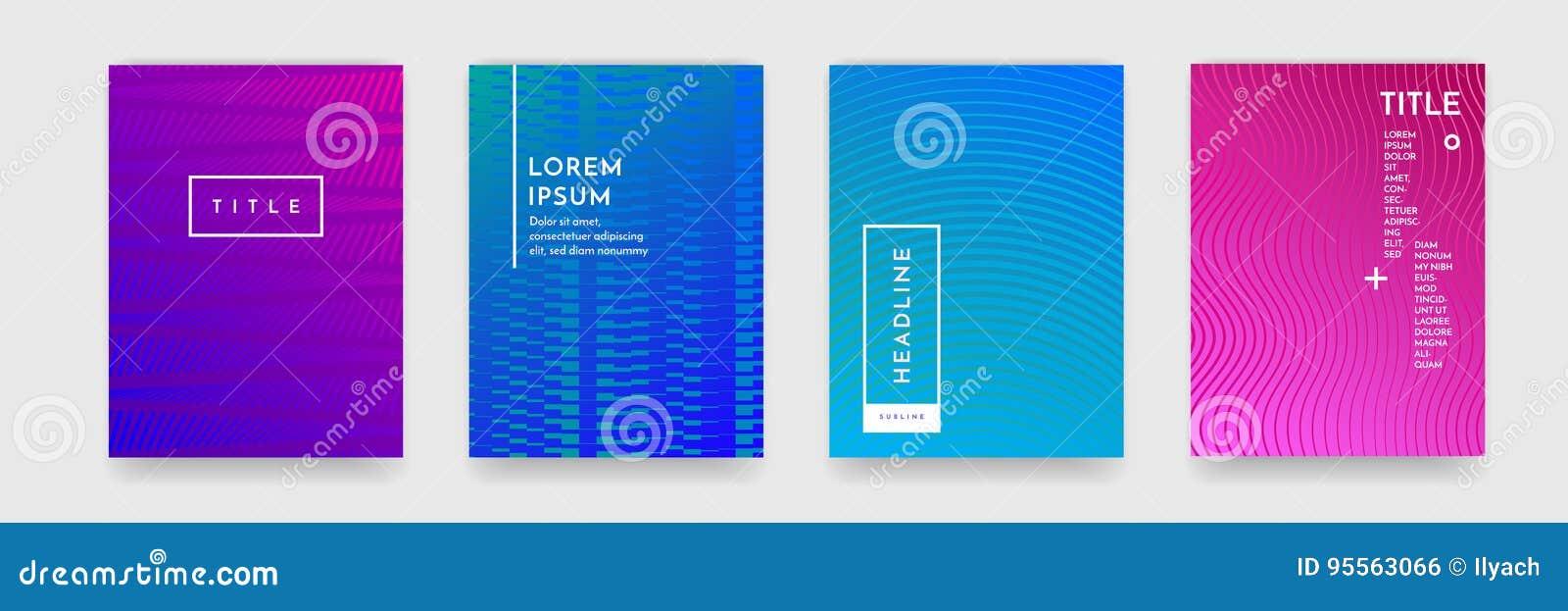 Textura geométrica del modelo del extracto de la pendiente del color para el sistema del vector de la plantilla de la cubierta de