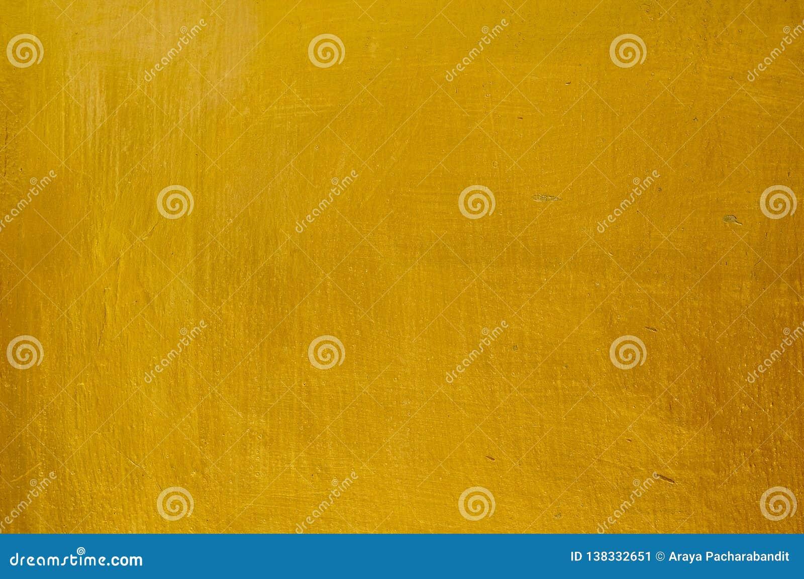 Textura horizontal del fondo de la pared del estuco del oro