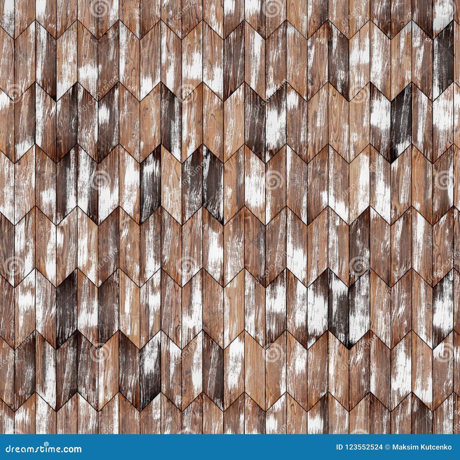 Textura inconsútil del piso del galón del entarimado natural estrecho del alerce