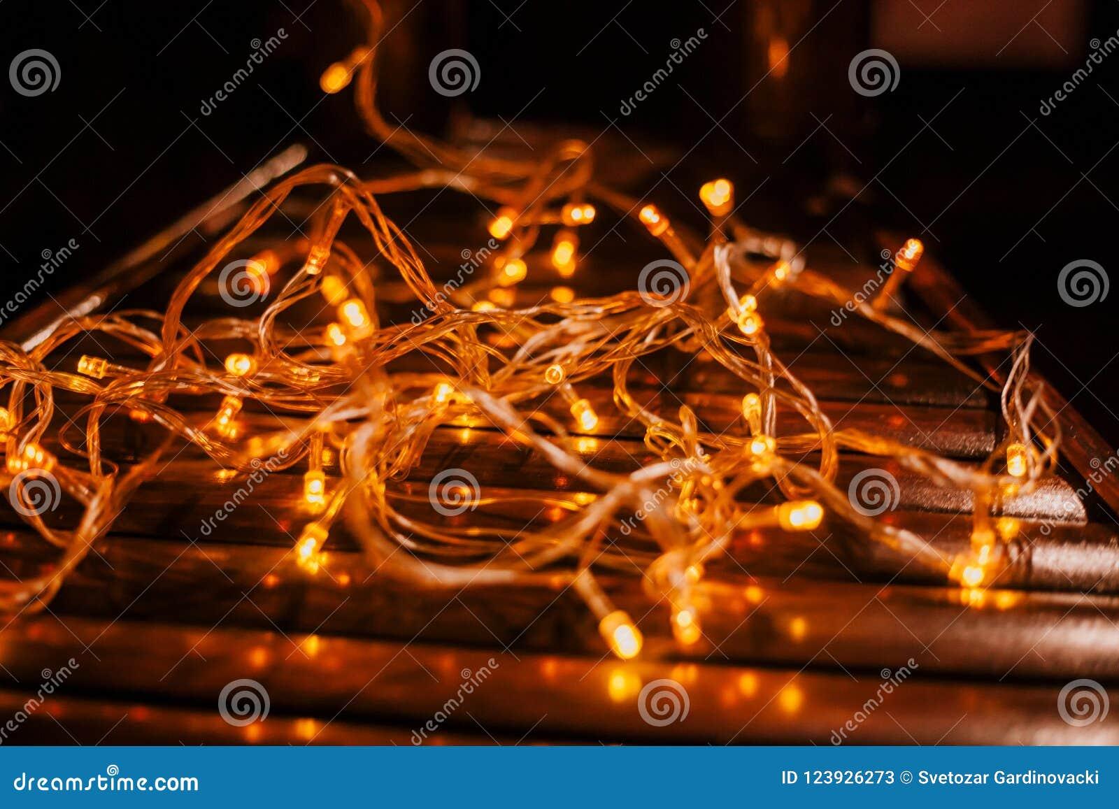 Textura llevada de las luces