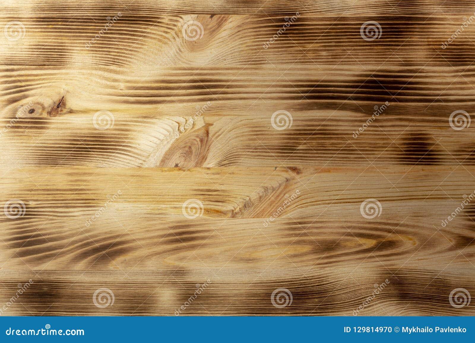 Textura marrón de madera del grano, vista superior del fondo de madera de la pared de la tabla de madera