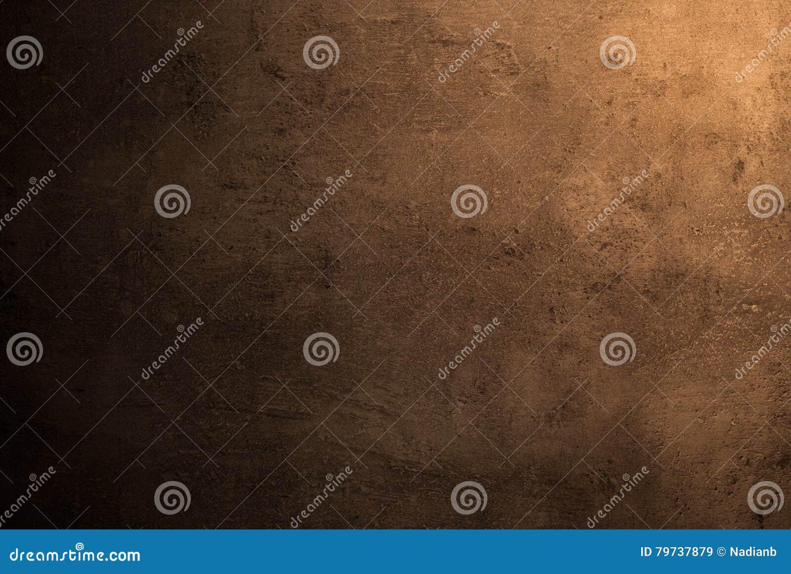Textura marrón vacía de la superficie concreta