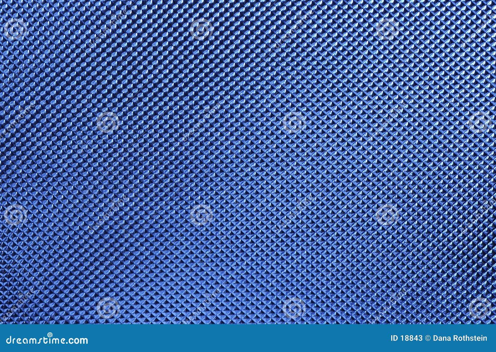 Textura metálica azul