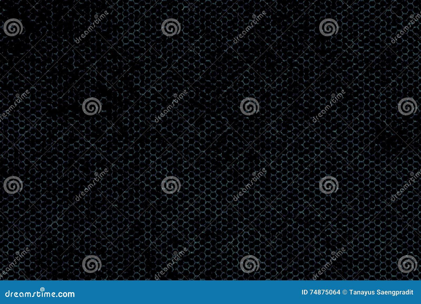 Textura metálica preta do fundo da malha
