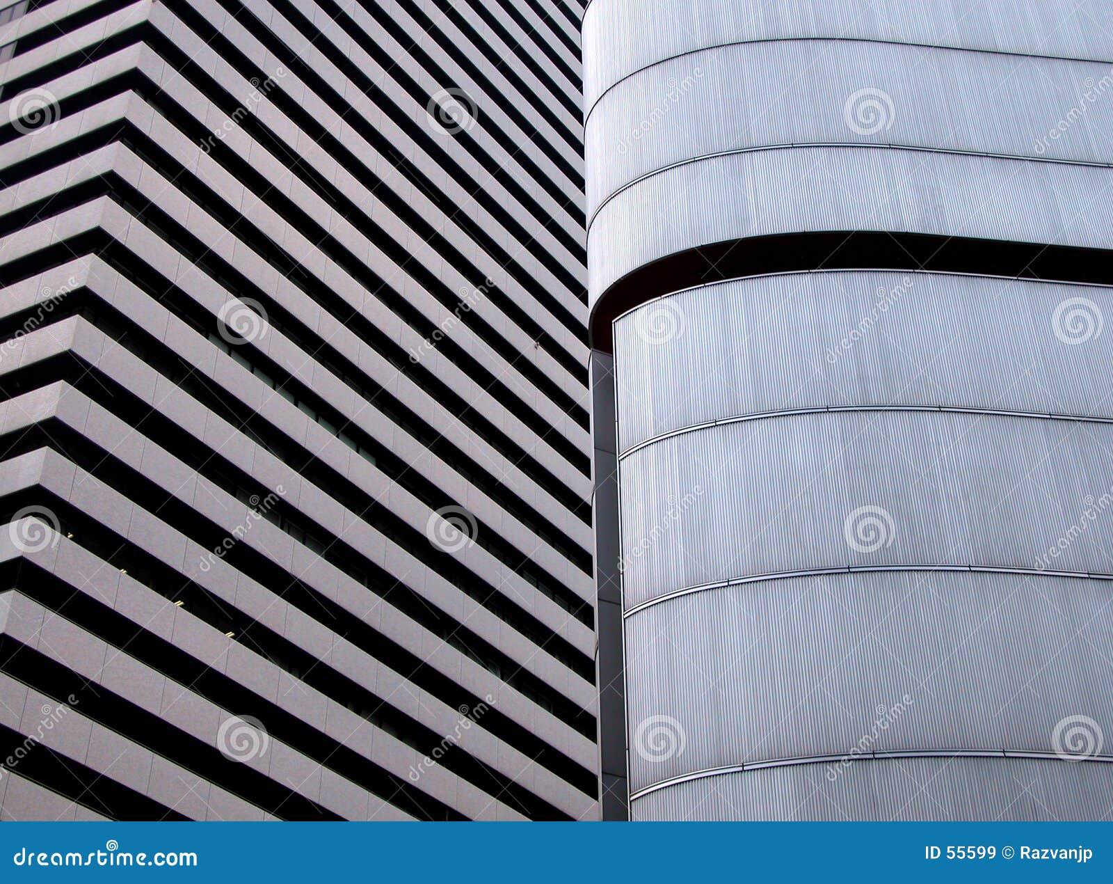 Textura moderna do edifício