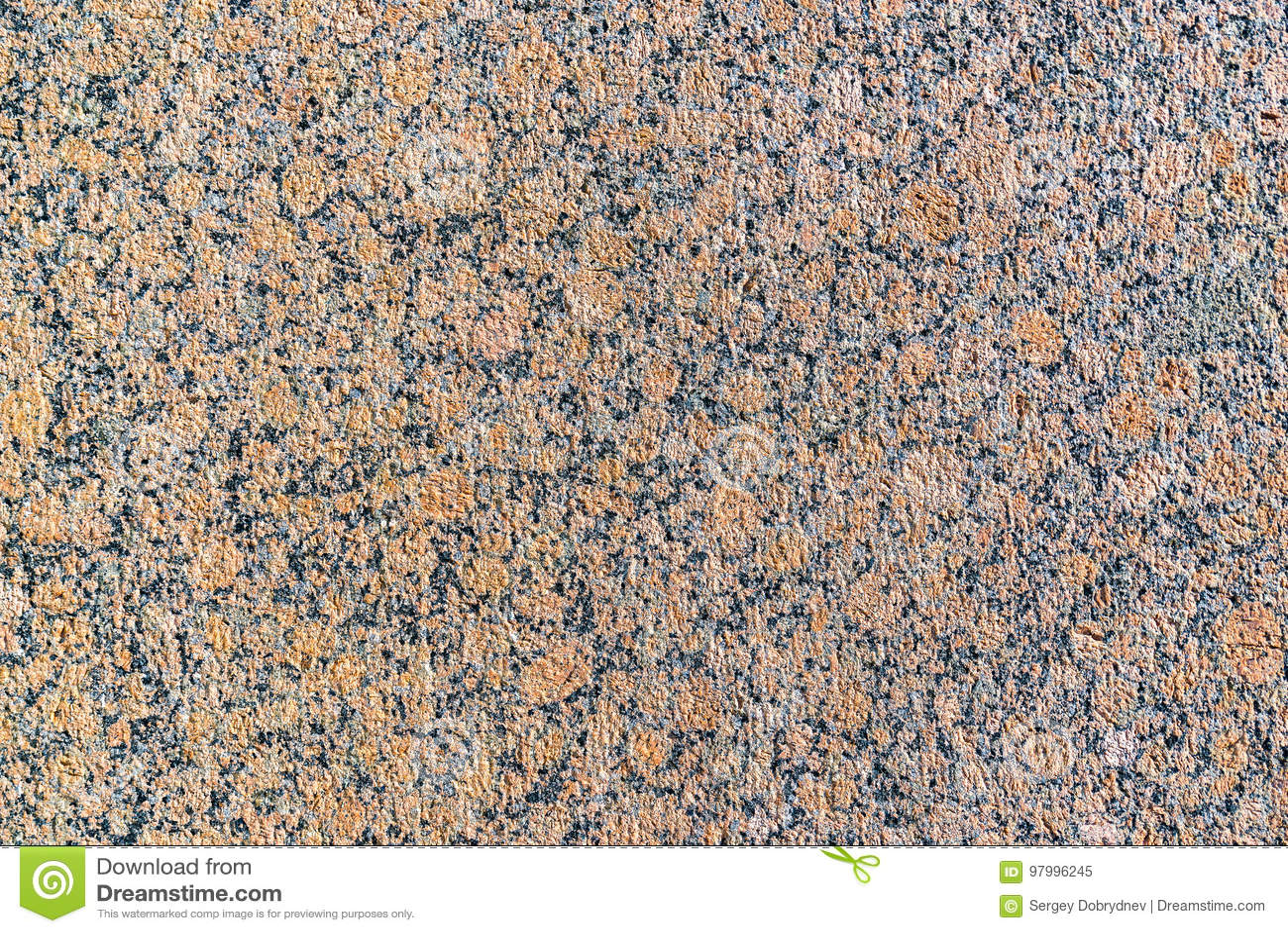 Textura natural de uma superfície plana do granito