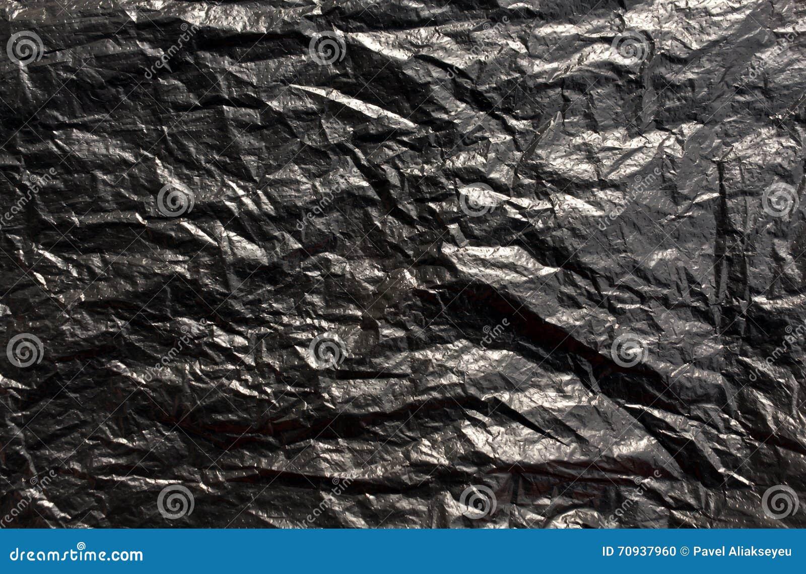 La Imagen Plástico Archivo Bolsa De Textura Foto Negra qvTETz