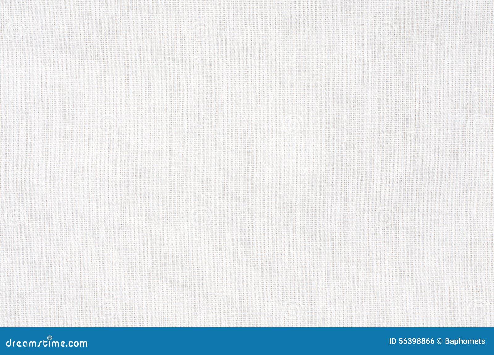 textura o fondo blanca lona blanca de la tela foto de