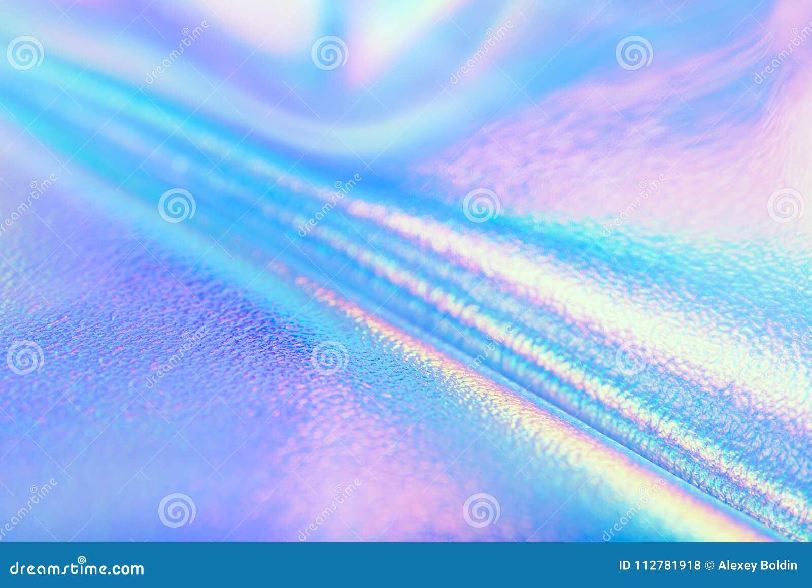 Texturas De Colores Pastel: Textura Olográfica Real Brillante De La Hoja En Colores