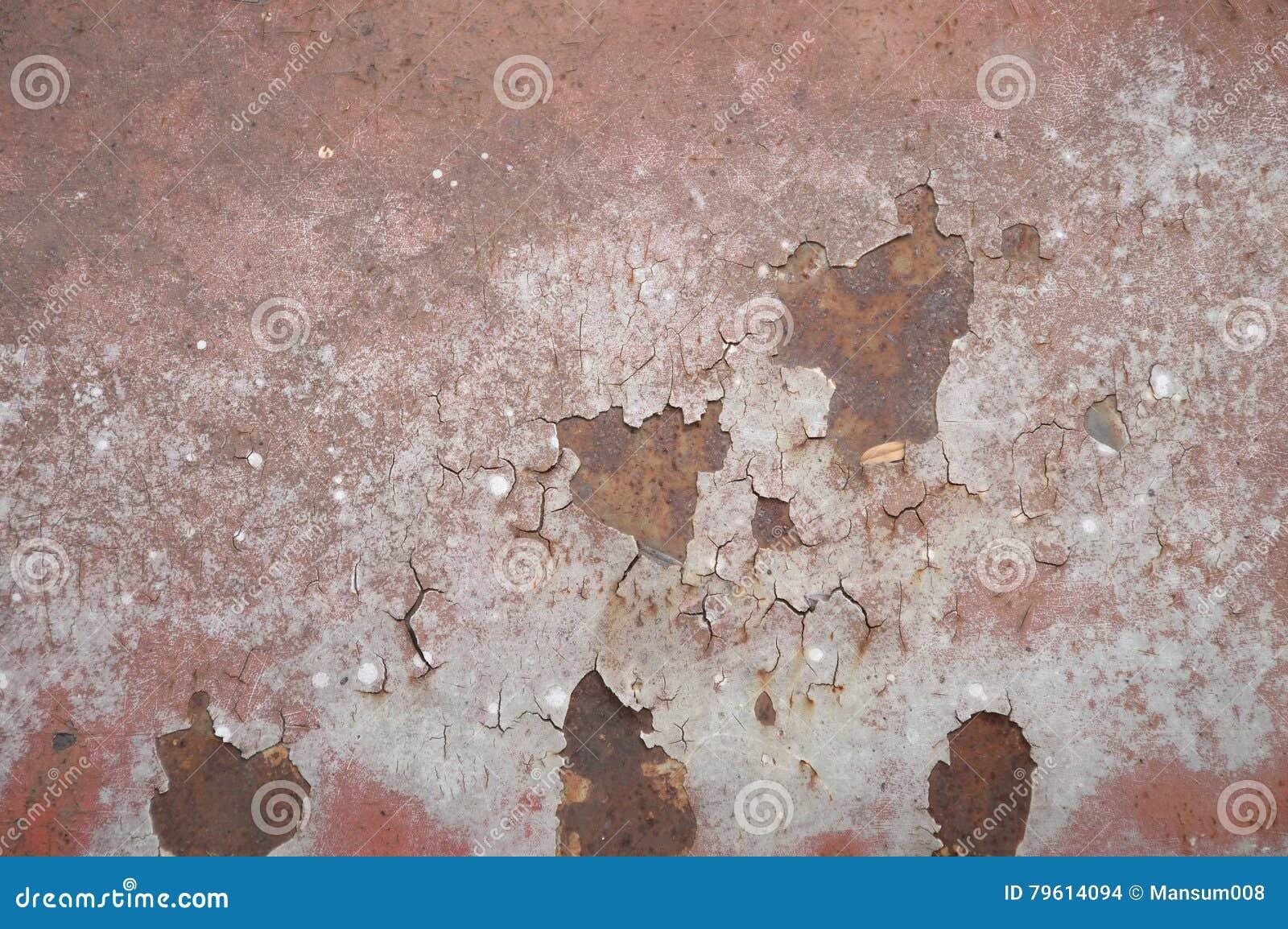 Textura oxidada da parede