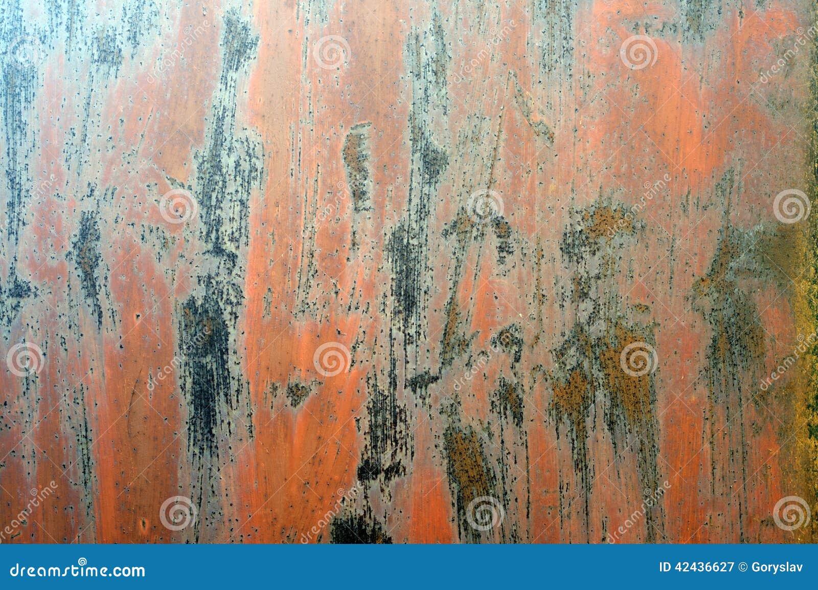 Textura oxidada del metal de Grunge
