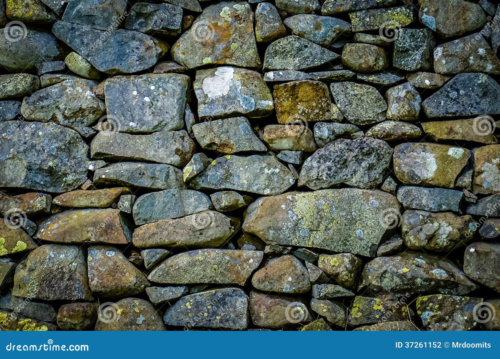 Textura r stica de la pared de piedra foto de archivo for Granito en piedra