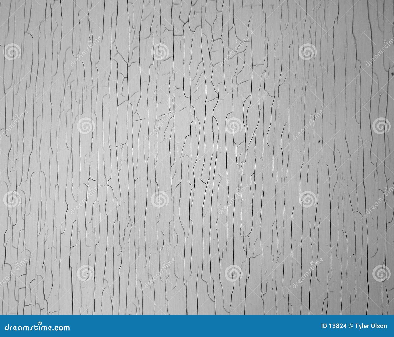 Textura rachada da pintura