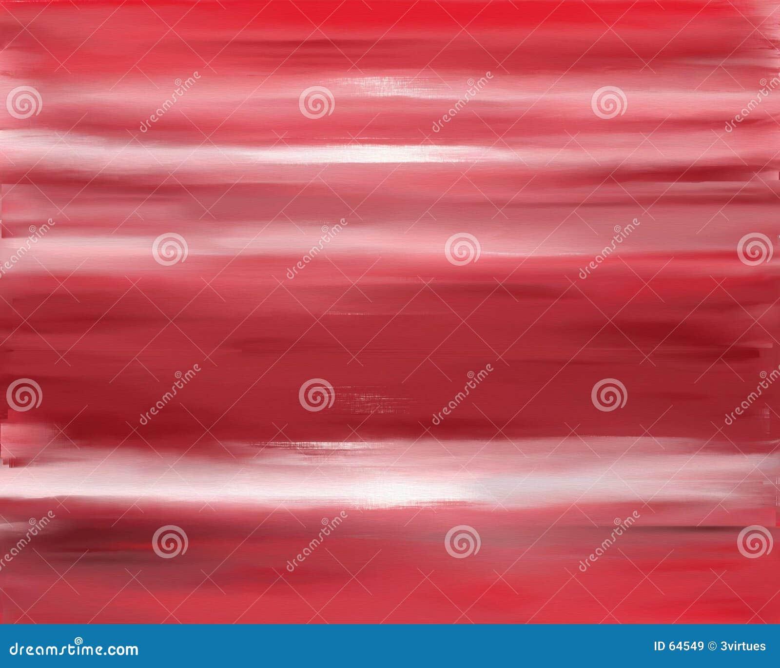 Textura roja de la pintura de petróleo