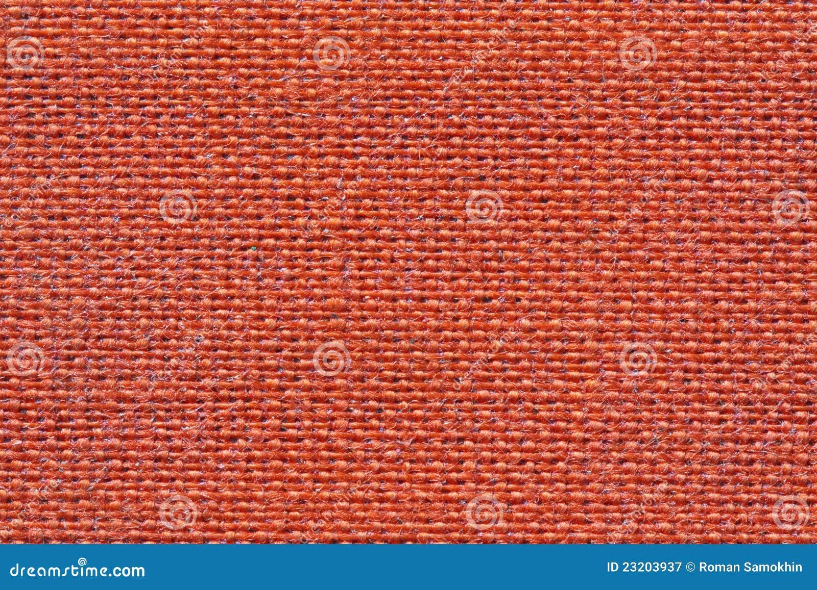 Textura Roja De La Tela Fotografía De Archivo Libre De