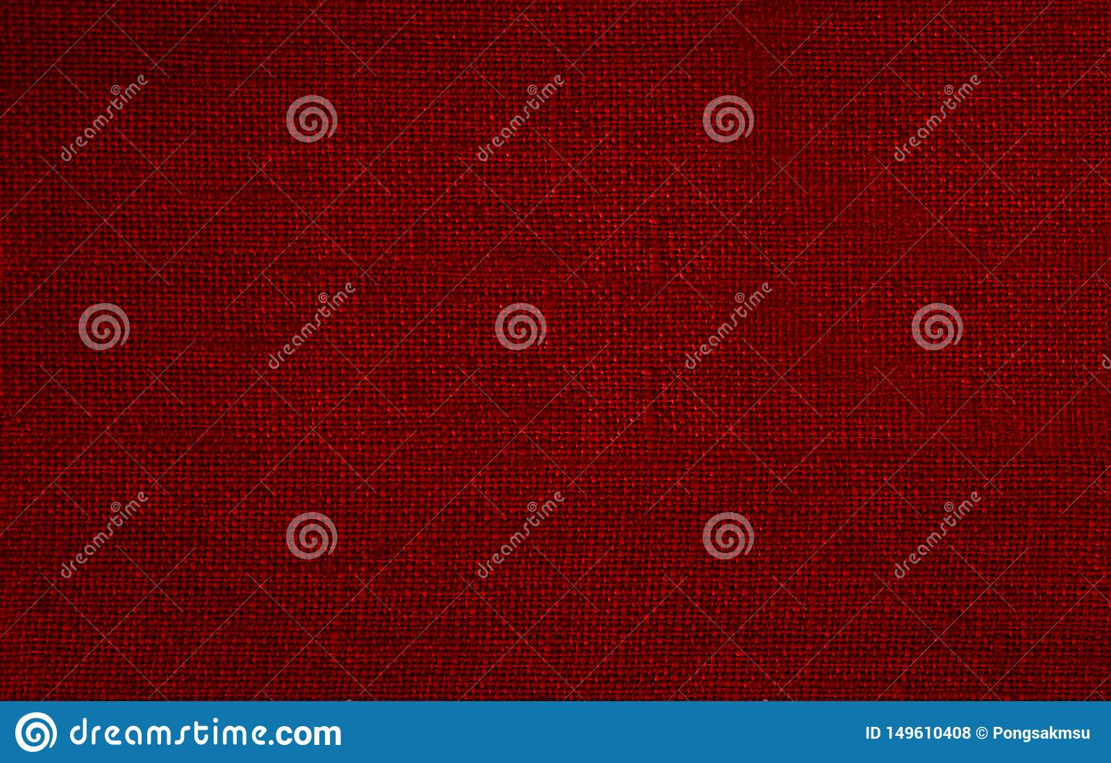 Textura roja del fondo del closth de la tela, fondo para el diseño gráfico, foto de la tela