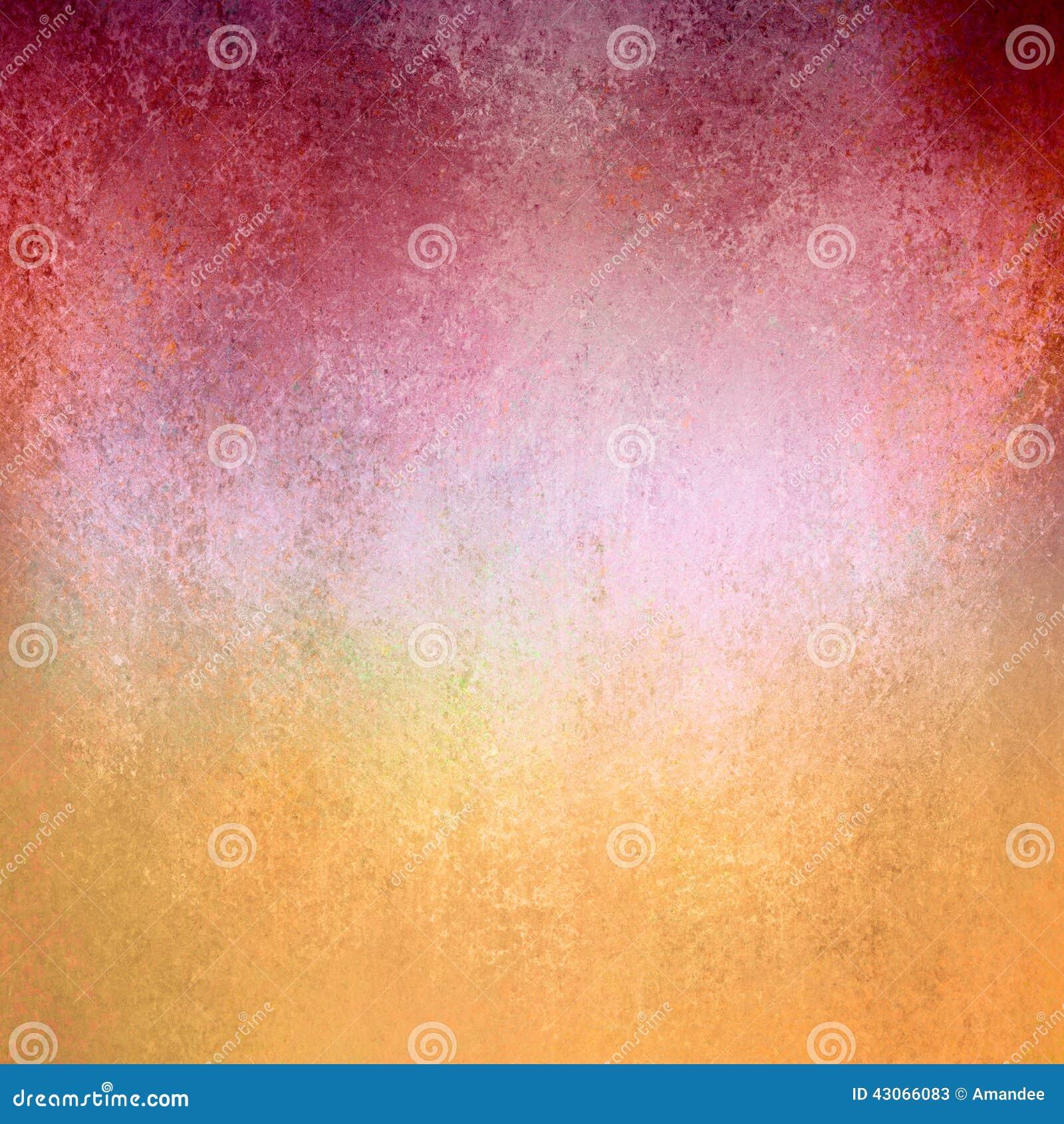 Textura roja del fondo del papel del oro del viejo vintage