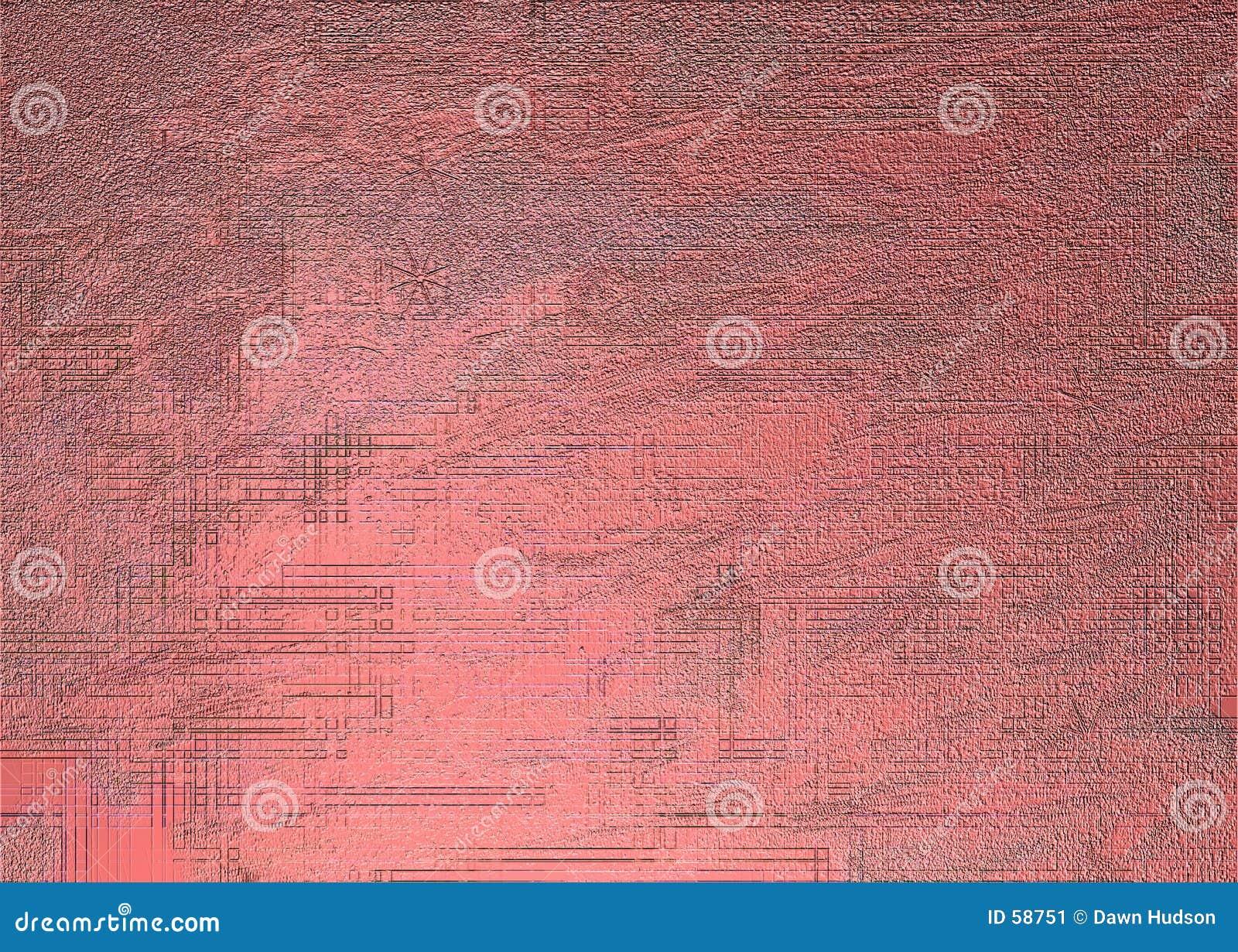 Textura roja del metal