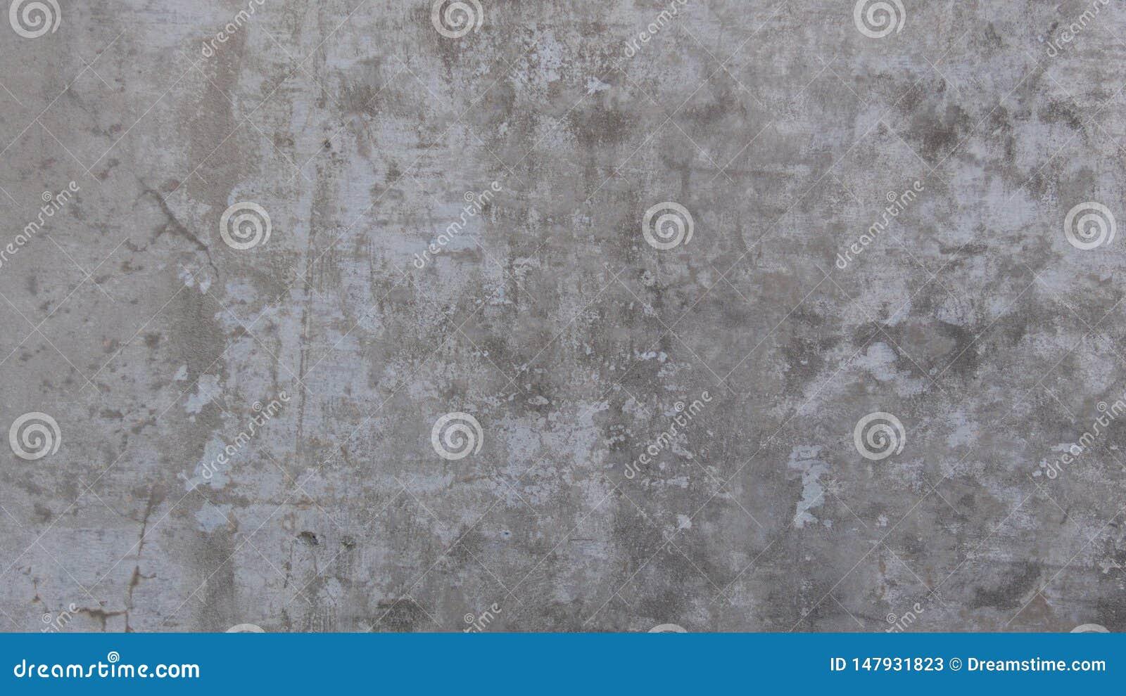 Textura Scarred do papel de parede do fundo do concreto do cimento