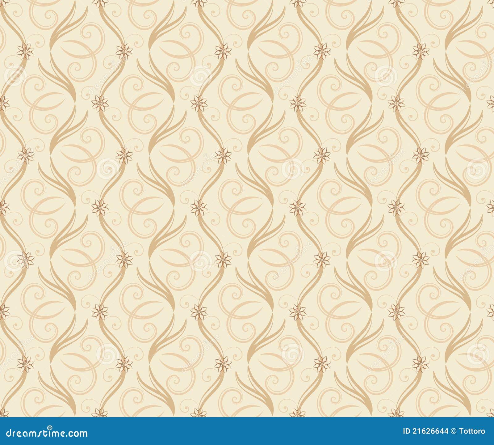 Textura Sem Emenda Do Papel De Parede Imagens De Stock