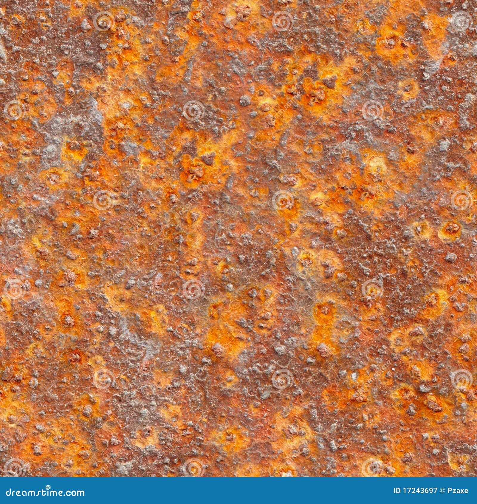 Textura sem emenda - metal com corrosão
