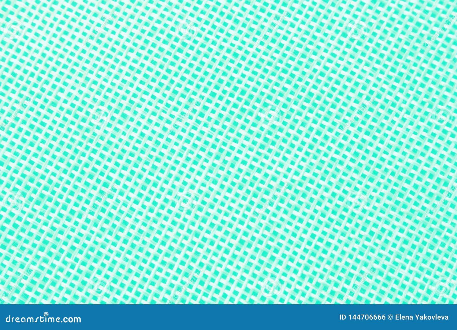 Textura tecida na turquesa clara