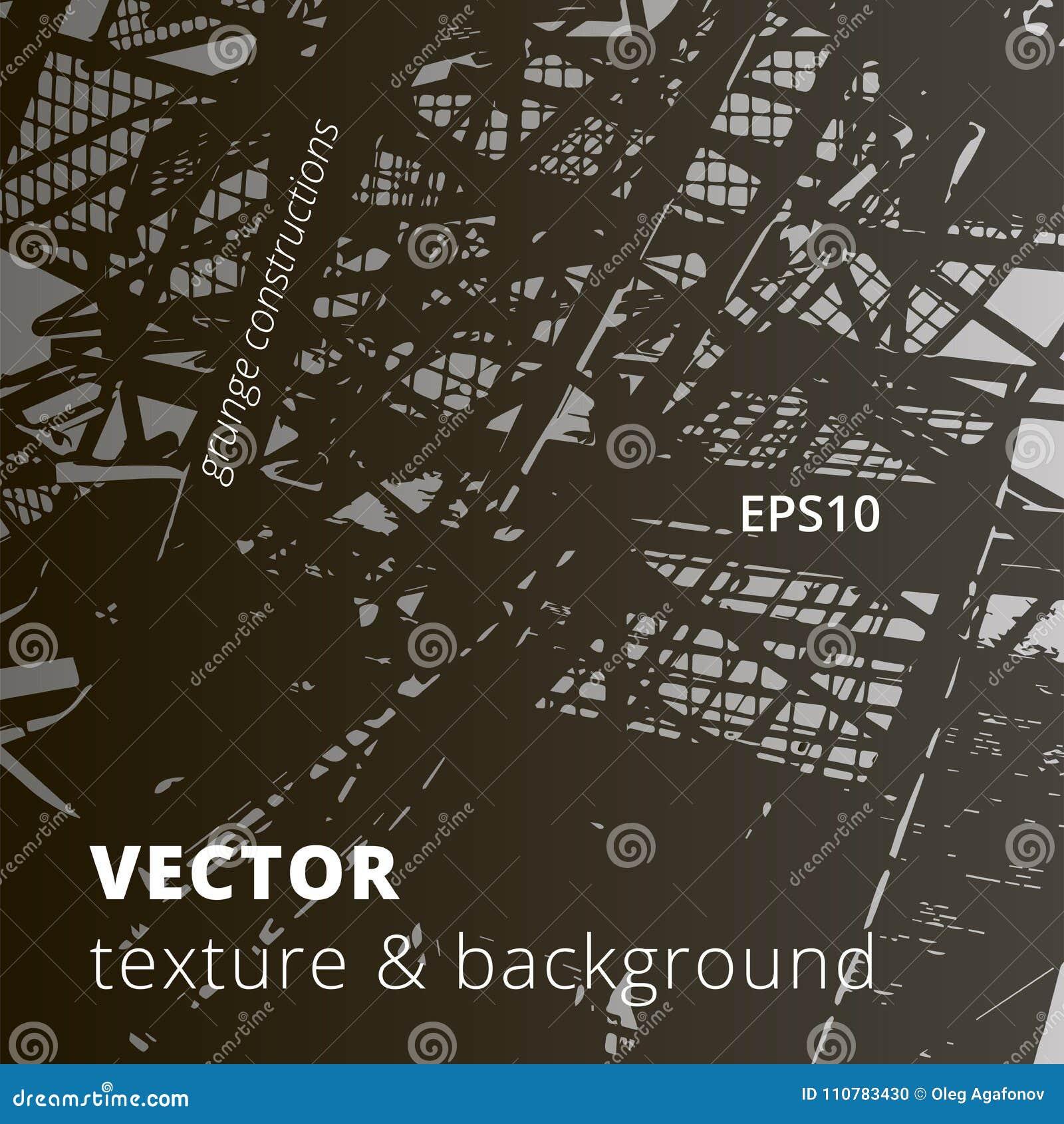 Textura urbana del vector y fondo arquitectónico