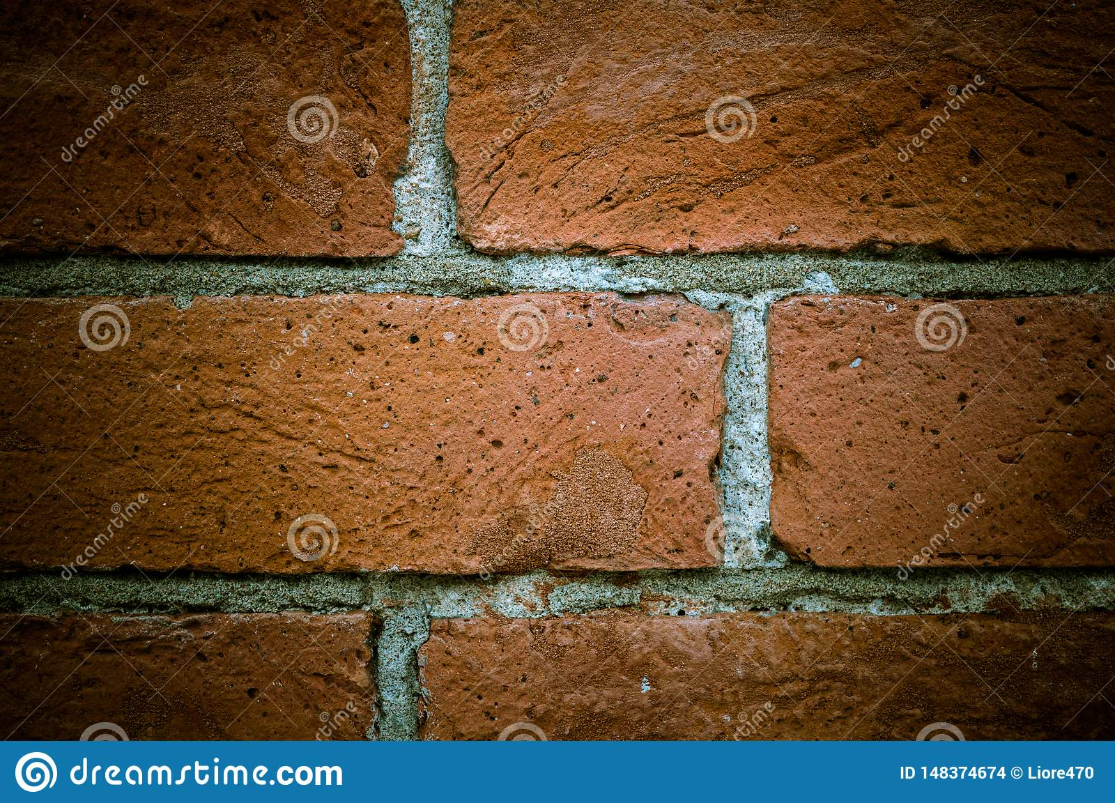 Textura velha da parede de tijolo do vintage, grande projeto para algumas finalidades