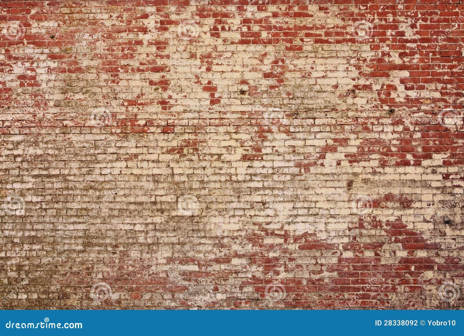 Textura velha rústica da parede de tijolo