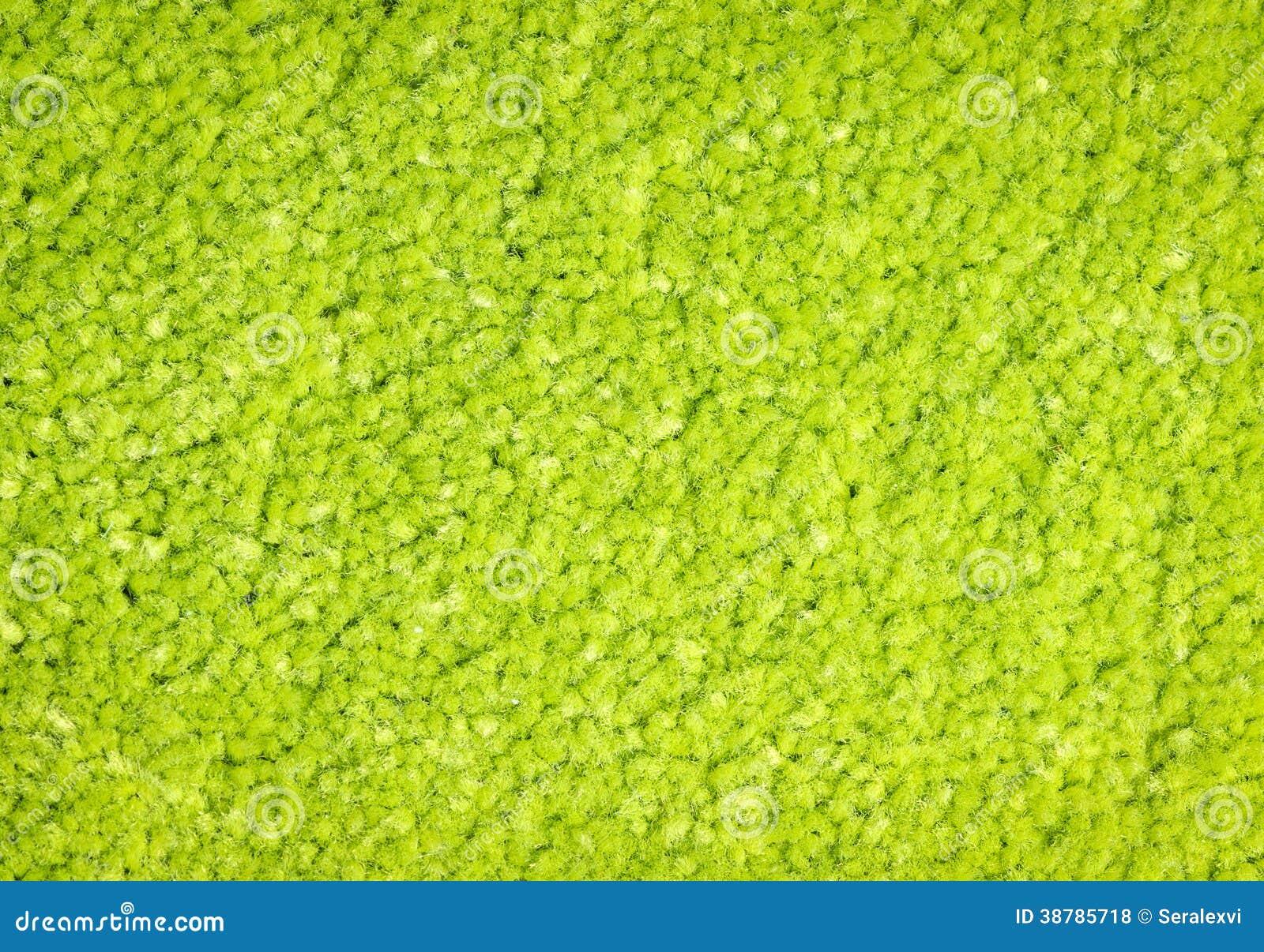 Textura verde de la alfombra foto de archivo imagen for Alfombra verde para jardin