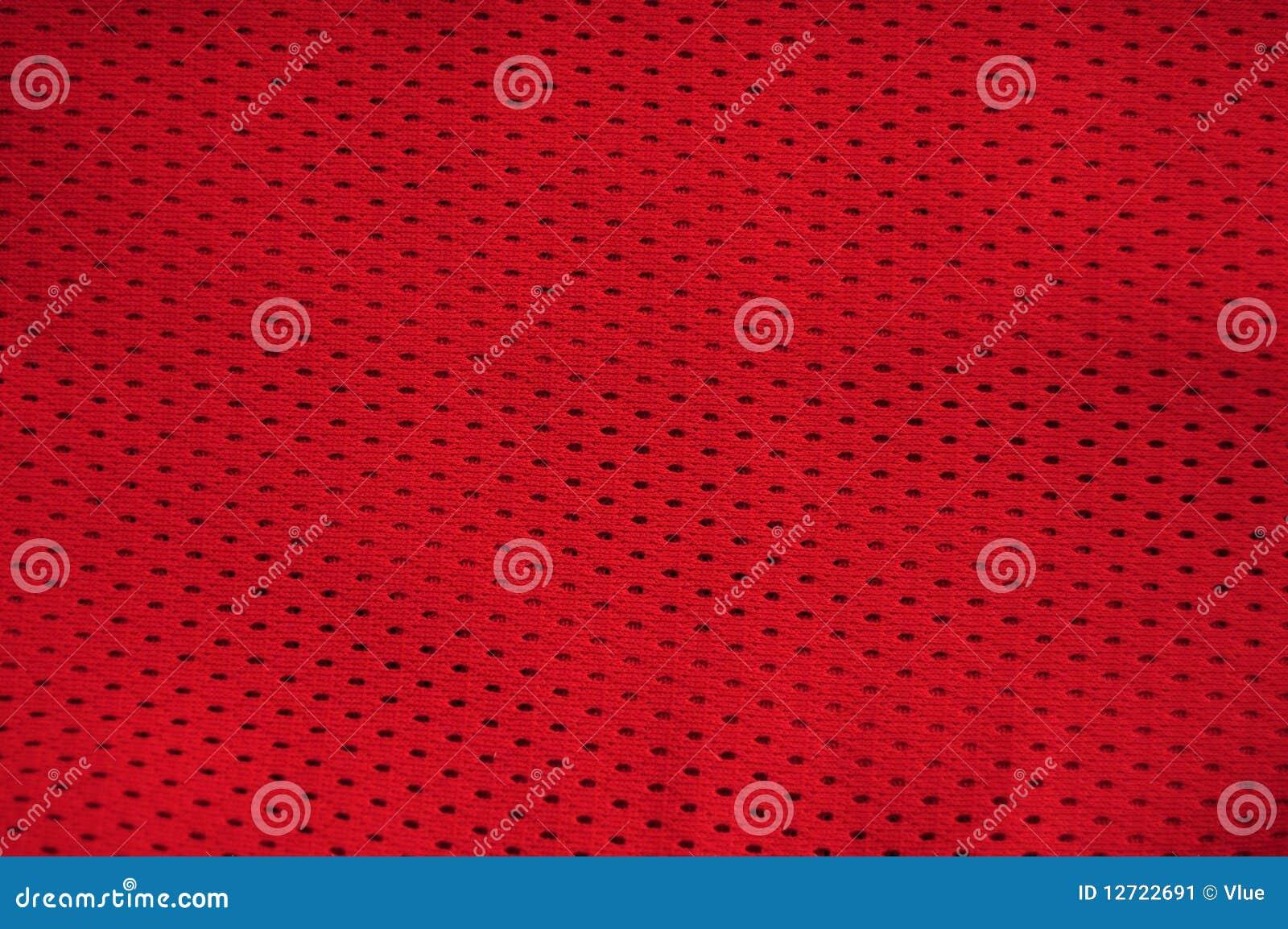 Textura vermelha de Jersey