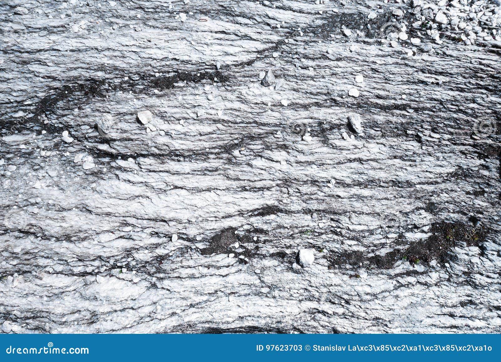 Texturas abstratas na pedra