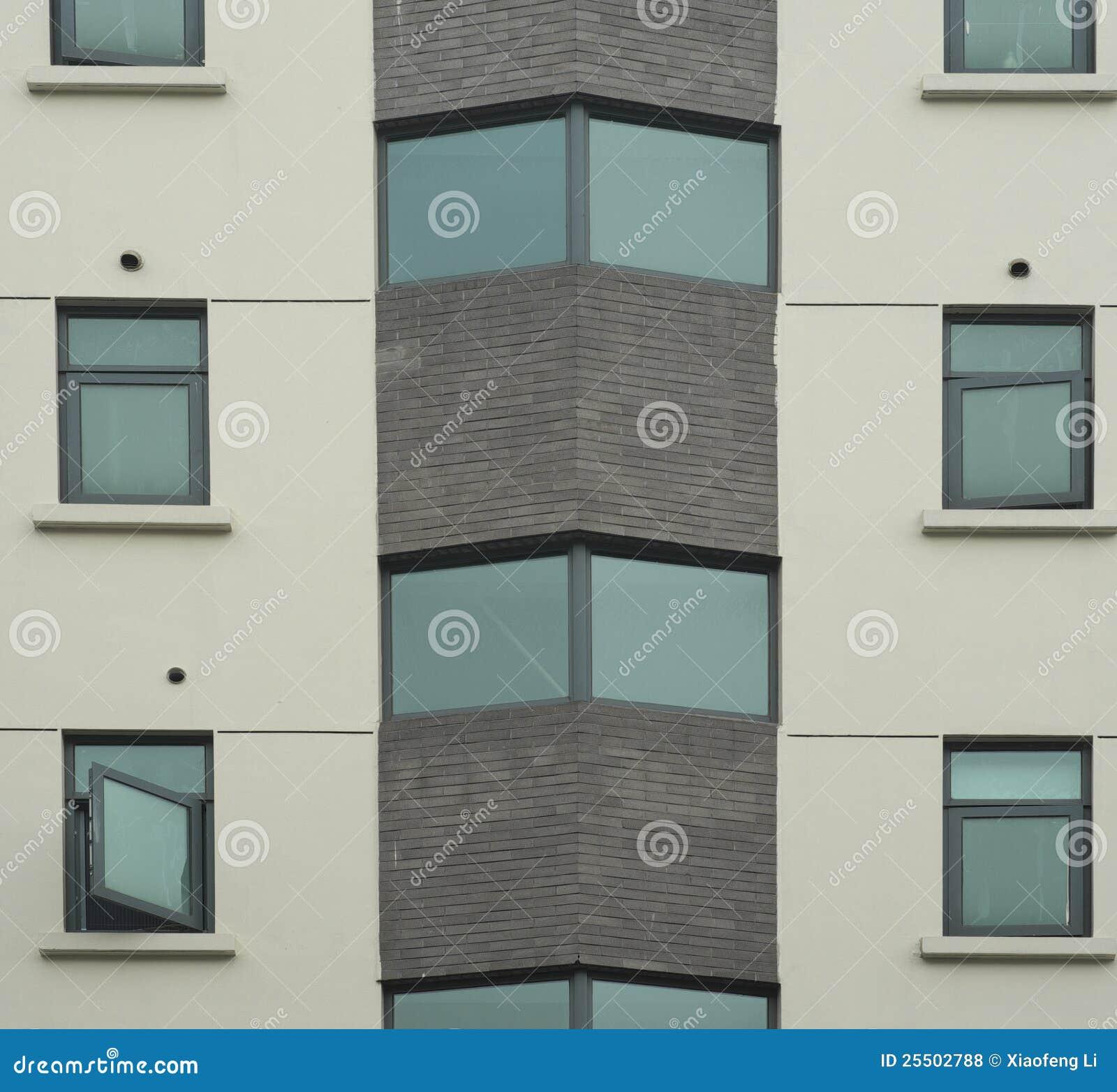Texturas de la pared exterior del edificio de oficinas for Exterior oficinas