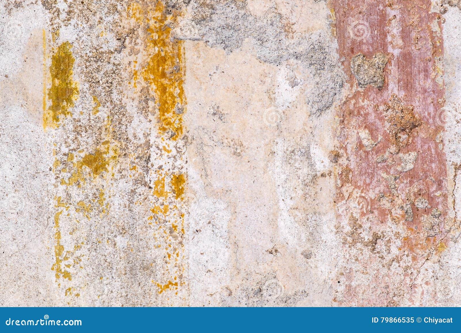 Texturas de las paredes del color de las ruinas antiguas - Texturas de paredes ...