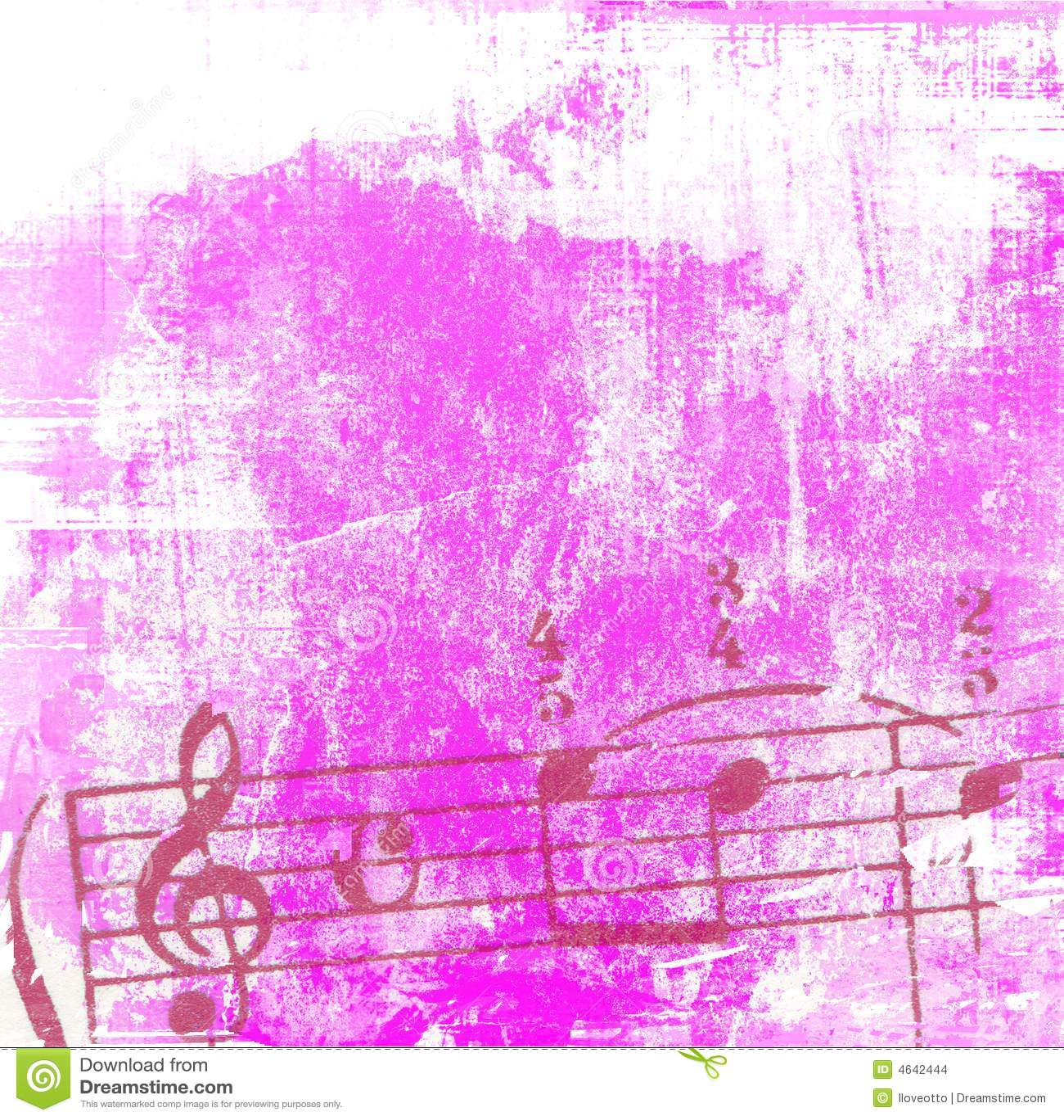 Texturas e fundos da música de Grunge