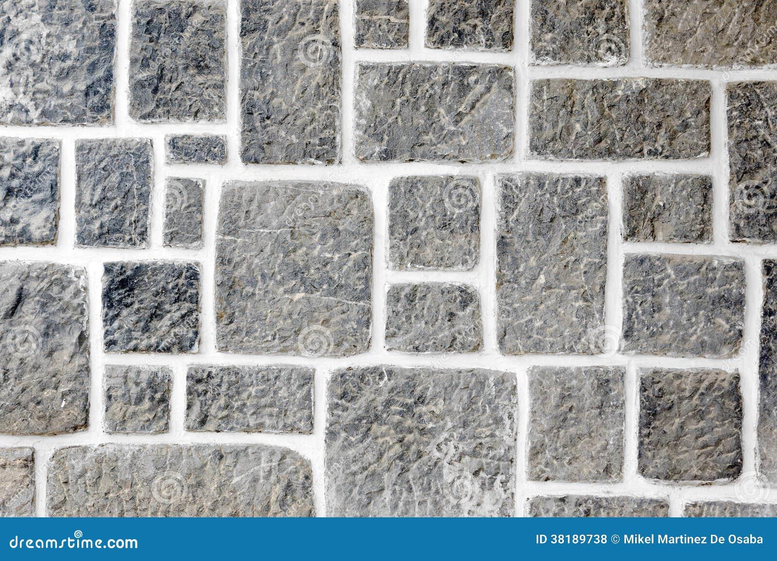 Texturas em uma parede do granito
