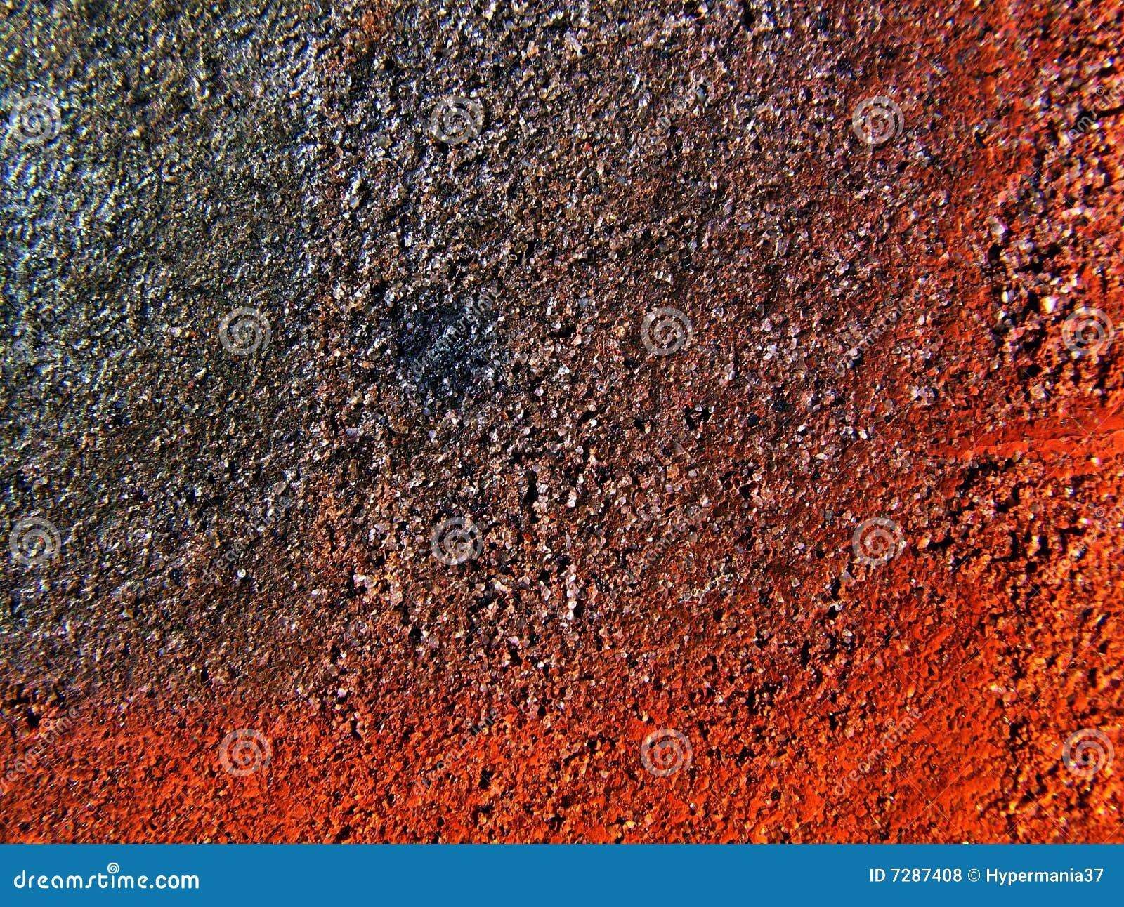 Texturas rojas y negras