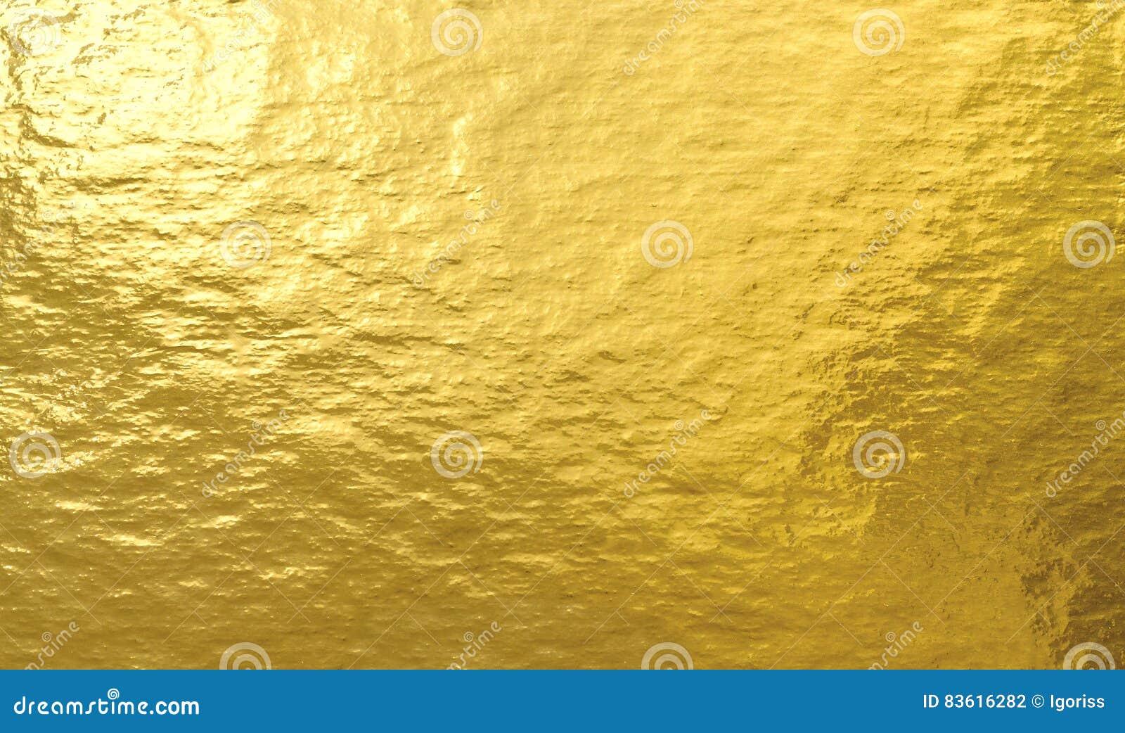 Texturbakgrund för guld- folie