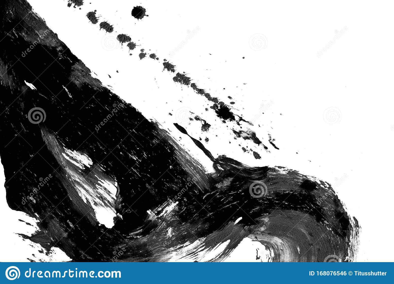 Texture Abstract Japanese Ink On White Paper Background Stock Photo Image Of Texture Brush 168076546